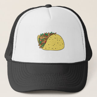 super stuffed taco trucker hat