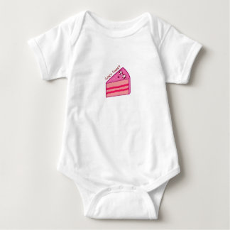 Super Sweet Cake Baby Bodysuit