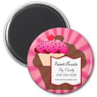 Super Sweet Cupcake Bakery 6 Cm Round Magnet