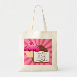 Super Sweet Cupcake Bakery Budget Tote Bag