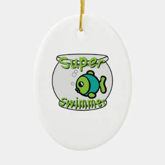 Super Swimmer Christmas Ornament