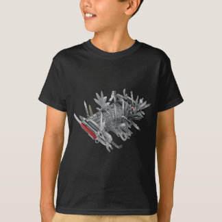Super Swiss Army Knife T-Shirt