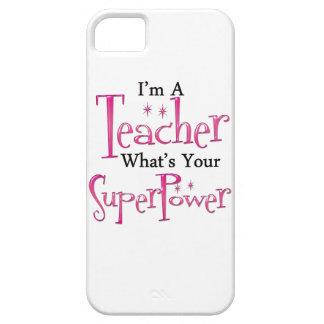 Super Teacher iPhone 5 Cases