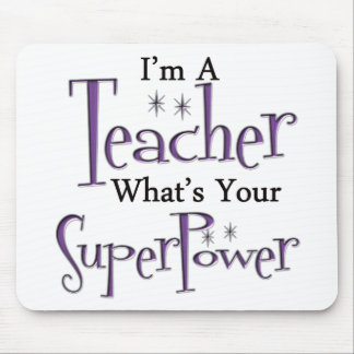 Super Teacher Mouse Mat