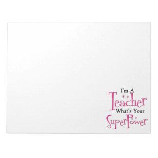 Super Teacher Notepad