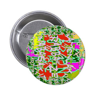 Super Techy Geek Digital Graphic Crazy Party gifts 6 Cm Round Badge