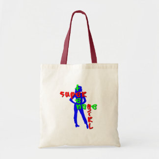 Super Teenage Girl Tote Bag