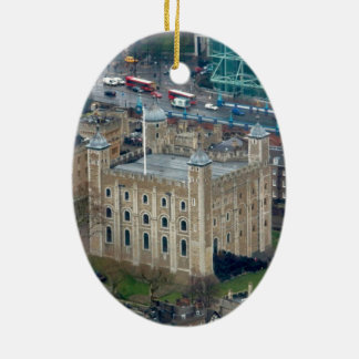 Super! Tower of London England Ceramic Oval Decoration