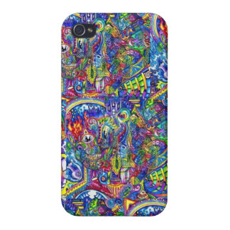 Super Trippy Iphone Case Covers For iPhone 4