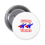 Super Twins Buttons