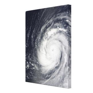 Super Typhoon Choi-wan Canvas Print
