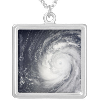Super Typhoon Choi-wan Silver Plated Necklace