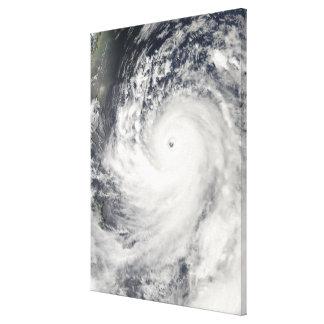 Super Typhoon Man-Yi Canvas Print