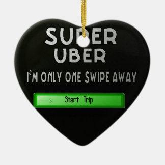 super uber christmas ornament