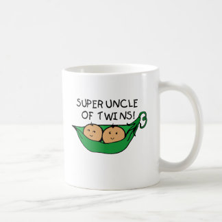 Super Uncle of Twins Pod Coffee Mug