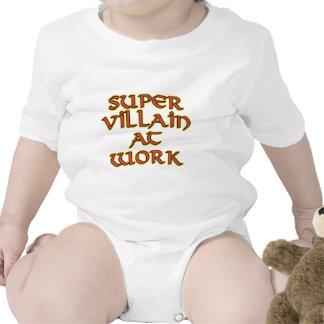 Super Villain at Work Baby Bodysuits
