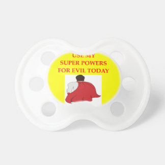 super villain pacifiers