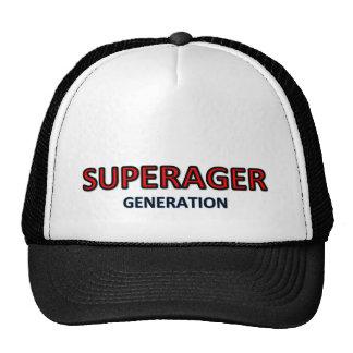 SuperAger cap logo
