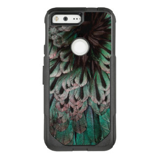 Superb Bird Of Paradise Feather Abstract OtterBox Commuter Google Pixel Case