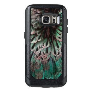 Superb Bird Of Paradise Feather Abstract OtterBox Samsung Galaxy S7 Case