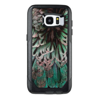 Superb Bird Of Paradise Feather Abstract OtterBox Samsung Galaxy S7 Edge Case