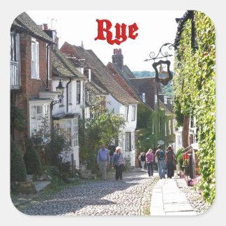 Superb! Rye England Square Sticker