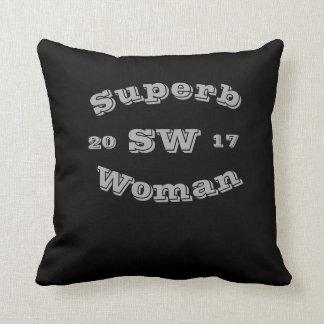 Superb Woman Pillow