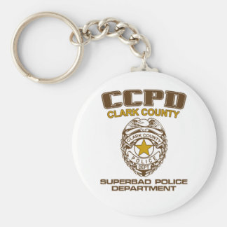 Superbad McLovin Clark Basic Round Button Key Ring