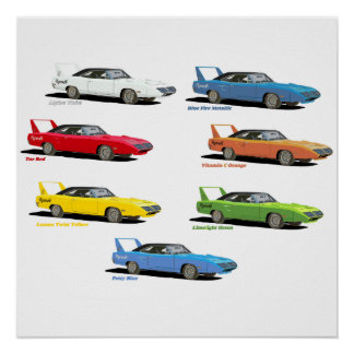 Superbird Colors Poster