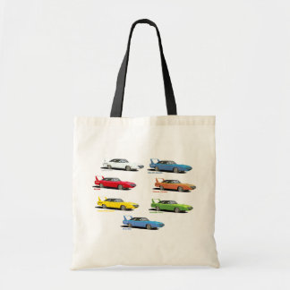 Superbird Colors Tote Bags