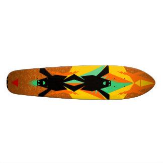 supercolorfunky skateboard decks