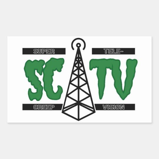 Supercreep TV Sticker (Set of 4)