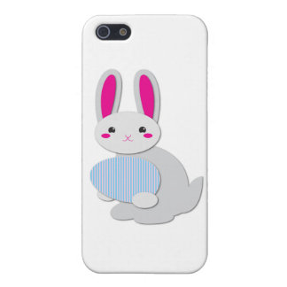 supercute easter bunny iPhone 5/5S cases