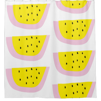 superCUTE watermelon shower curtain