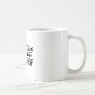 SuperDad...Dermatologist Basic White Mug
