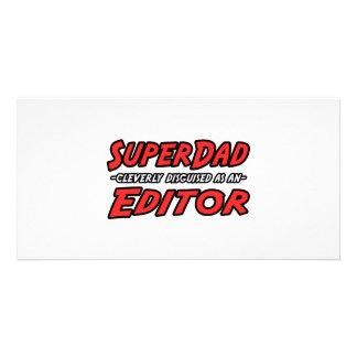 SuperDad...Editor Photo Cards