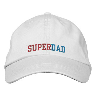 Superdad Embroidered Cap Embroidered Hats