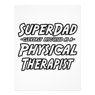 SuperDad...Physical Therapist 21.5 Cm X 28 Cm Flyer