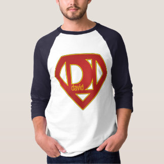 SuperDavid - 3/4 Sleeve T-Shirt