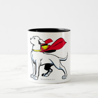 Superdog Krypto Two-Tone Coffee Mug