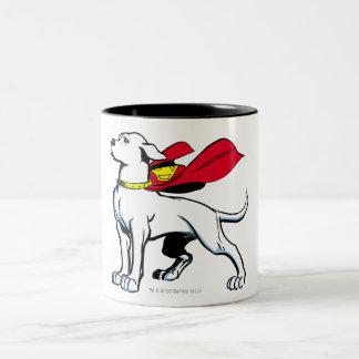 Superdog Krypto Two-Tone Mug