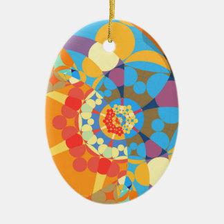 Superflat Geometries (iii) Christmas Ornament