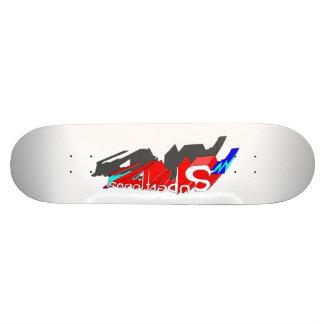 SUPERFLUOUS superhero logo skateboard