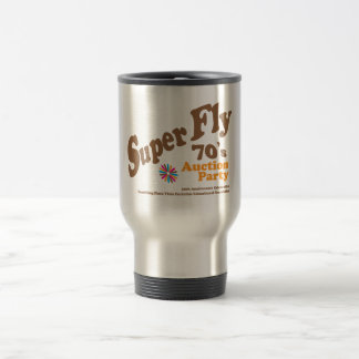 superfly coffe stainless steel travel mug