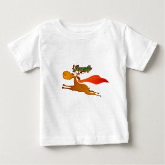 Superfly reindeer baby Christmas tshirt