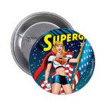 Supergirl 6 Cm Round Badge