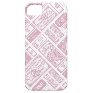 Supergirl Admit One Pattern Pink iPhone 5 Case