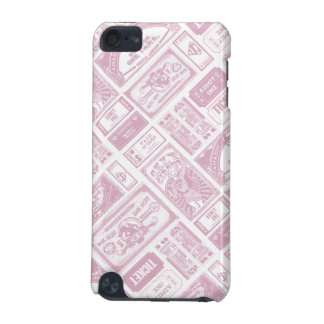 Supergirl Admit One Pattern Pink iPod Touch (5th Generation) Cover