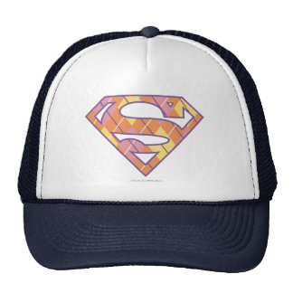 Supergirl Argyle Logo Cap