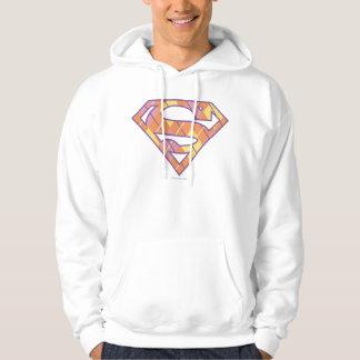 Supergirl Argyle Logo Hoodie